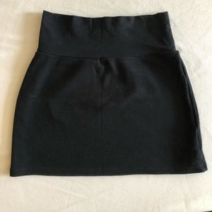 American apparel skirt small black stretchy